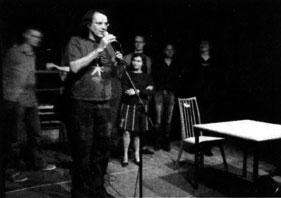 Lyrikperformance mit Franz Klug