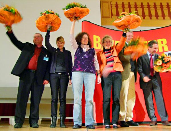 Die neuen bayerischen Mitglieder des Bundestags