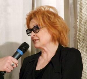 """Ingrid Carven bei der Premiere des Dokumentarfilms """"Daniel Schmid - Le chat qui pense"""""""