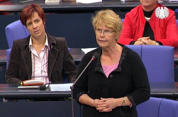 Zwischenfrage Dr. Martina Bunge bei Rede Peter Weiß (CSU)